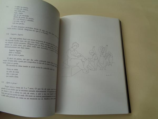 Os xogos dos nosos rapaces (Ilustrado por Xaime Quessada)