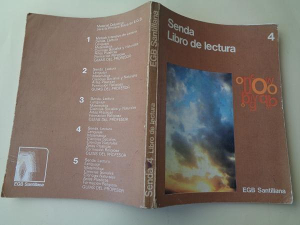 Senda 4. Libro de lectura (1977)