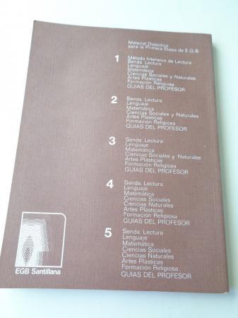 Senda 5. Libro de lectura (1977)