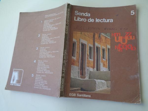 Senda 5. Libro de lectura (1976)