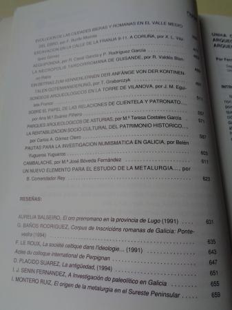 GALLAECIA Nº 14/15. Revista do Departamento de Historia I. Facultade de Xeografía e Historia. USC