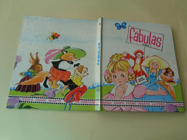 Fábulas. 4 tomos. Ilustrados por María Pascual