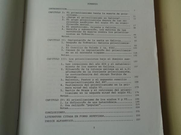 Estudio sobre el Priscilianismo en la Galicia antigua (Tesis doctoral)