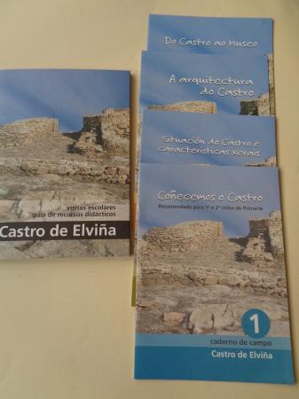 Castro de Elviña (A Coruña). Visitas escolares.Guía de recursos didácticos + 4 cadernos de campo + CD