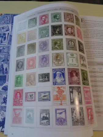 Todos los sellos de la peseta