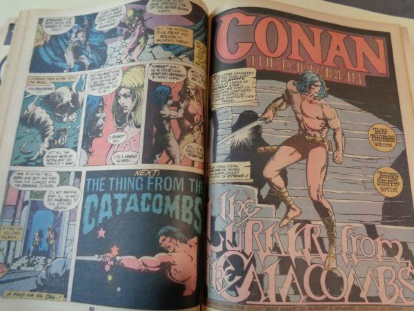 Conan the barbarian. Vol. 1, No. 4 - Marvel Treasury Edition (1975) (In english)
