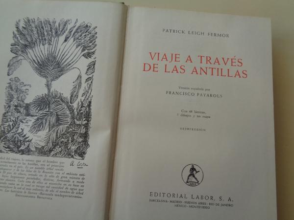 Viaje a través de Las Antillas (Con 48 láminas, 5 dibujos y un mapa)