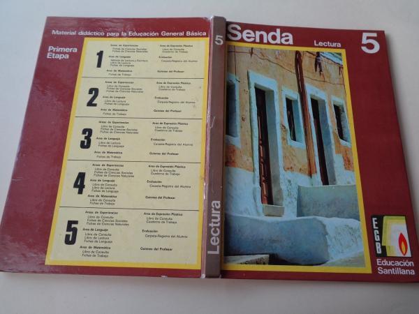 Senda 5. Libro de lectura EGB (1972)