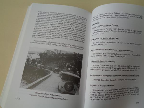 Crónica de una represión en la Costa da Morte. Cee, Vimianzo, Ponte do Porto, Corcubión, Fisterra, Zas...