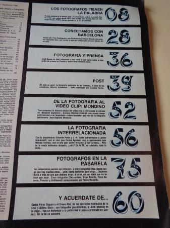 LA LUNA DE MADRID. Nº 31. Septiembre 1986. Número especial: La fotografía N existe
