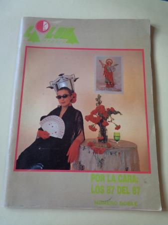 LA LUNA DE MADRID. Nº 34-35. Diciembre 1986-Enero1987. Número doble. Por la cara: Los 87 del 87