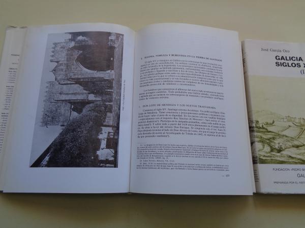 Galicia en los siglos XIV y XV. 2 tomos