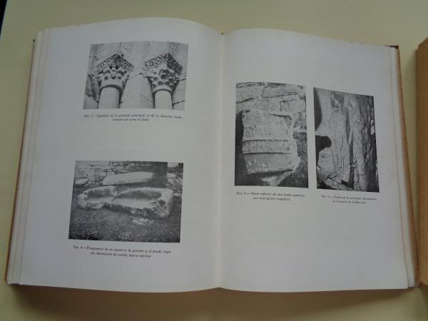 BRACARA AUGUSTA. Janeiro-Dezembro 1967. 2 tomos. Actas do Cogresso de Estudos da Comemoraçâo de XII Centenário da morte de S. Frutuoso