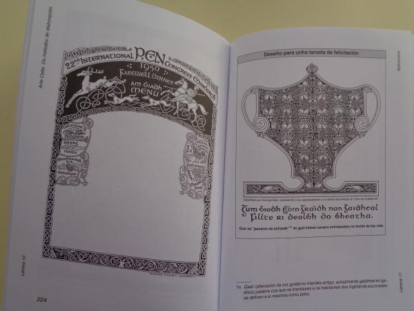 Arte celta. Os métodos de elaboración