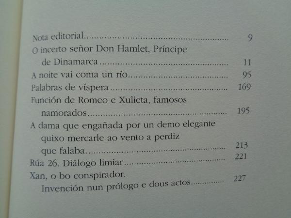 Don Hamlet e outras pezas. Teatro galego completo (1932-1968)
