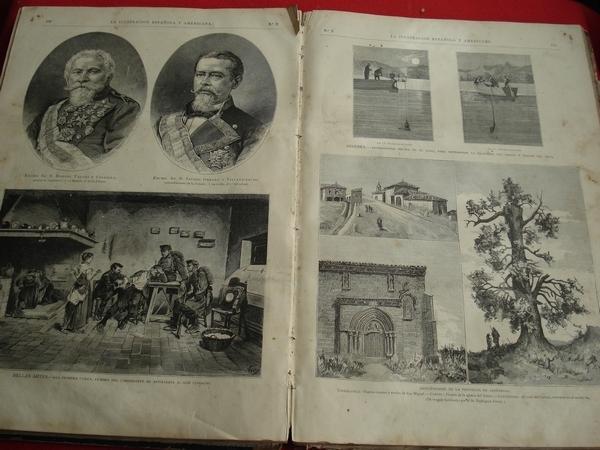 LA ILUSTRACIÓN ESPAÑOLA Y AMERICANA. AÑO 1880- 2º Semestre