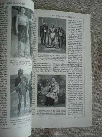 Encyclopédie par l´image. Les races humanes