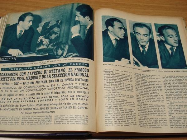 REVISTA BLANCO Y NEGRO. 6 TOMOS. NÚMEROS 2383 a 2434. AÑO 1958 COMPLETO. DEL 4-1-1958 AL 27-12-1958