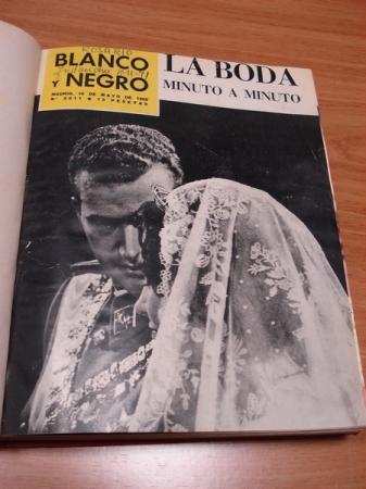REVISTA BLANCO Y NEGRO. 4 TOMOS. NÚMEROS 2611 A 2640. 19-5-1962 A 8-12-1962
