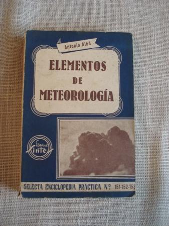 Elementos de meteorología