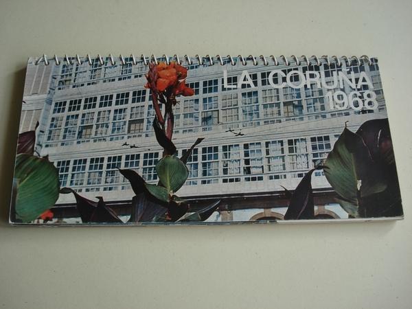 La Coruña 1968. Calendario. 12 postales en color