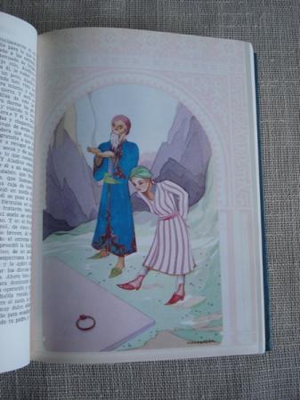 Las mil y una noches. Tomo I (ed. 1965) - Tomo II (ed. 1972)