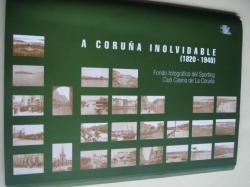 Ver os detalles de:  A Coruña Inolvidable (1820-1940) Fondo fotográfico del Sporting Club Casino de La Coruña. Carpeta con 26 fotografías B/N de 31 x 21,5 cm