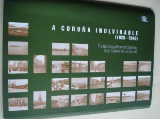 A Coruña Inolvidable (1820-1940) Fondo fotográfico del Sporting Club Casino de La Coruña. Carpeta con 26 fotografías B/N de 31 x 21,5 cm - Ver os detalles do produto