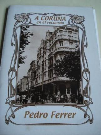 A Coruña en el recuerdo. 34 fotografías en B/N de 34 x 24 cm, en portafolio e carpeta ilustrada - Ver os detalles do produto