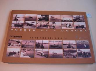 Puerto de A Coruña. Principios del siglo XX. 24 fotografías en B/N - Ver os detalles do produto