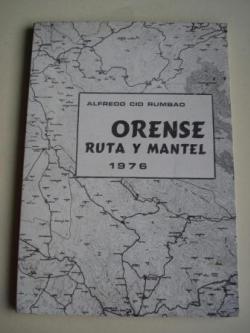 Ver os detalles de:  Orense. Ruta y mantel 1976