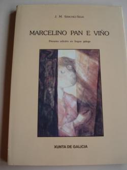 Ver os detalles de:  Marcelino pan e viño. Primeira edición en lingua galega. Traducción de Valetín Arias. Ilustracións de Jaime Fariña Falcón