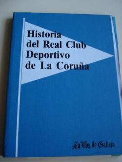 Ver os detalles de:  Historia del Real Club Deportivo de La Coruña. Colección completa de 24 fascículos soltos con cubertas e gardas para encadernar.