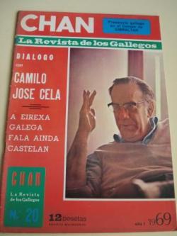Ver os detalles de:  Revista CHAN. La Revista de los Gallegos. Revista Quincenal. II quincena de diciembre, 1969. Año I. Nº 20
