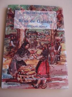 Ver os detalles de:  Rías de Galicia. Estética del paisaje (Traducción de Xosé Antonio Neira Cruz / Ilustrador por Ángel Hernansáez)