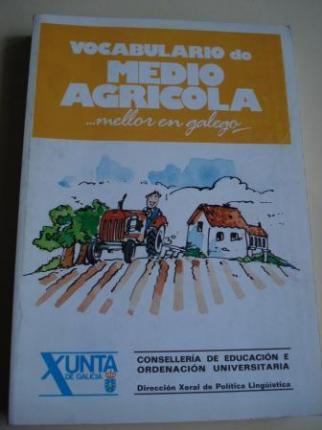 Vocabulario do medio agrícola ...mellor en galego - Ver os detalles do produto