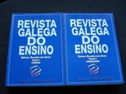 Ver os detalles de:  Revista Galega do Ensino. Núm. 28 / Outubro 2000 / Volume I: Ciencias / Volume II: Humanidades