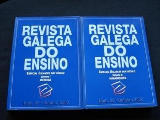 Revista Galega do Ensino. Núm. 28 / Outubro 2000 / Volume I: Ciencias / Volume II: Humanidades - Ver os detalles do produto