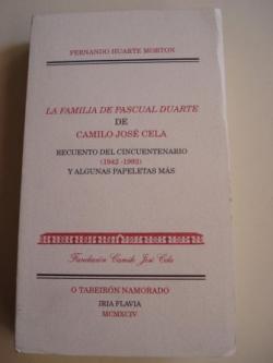 Ver os detalles de:  La familia de Pascual Duarte de Camilo José Cela. Recuento del Cincuentenario (1942-1992) y algunas papeletas más. Trasncripción de cada una de las portadas de las ediciones y datos complementarios para catalogación