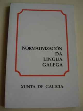 Normativización da lingua galega (5ª edición - 1991) - Ver os detalles do produto
