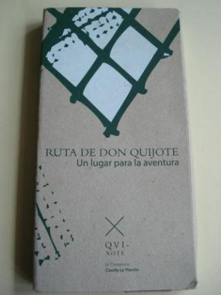 Ruta de Don Quijote. Un lugar para la aventura. 10 folletos desplegables de gran tamaño con 10 itinerarios - Ver os detalles do produto