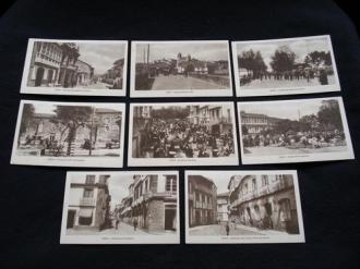 Lote de 8 tarxetas postais de Noia (Noya) / lote de 8 tarjetas postales de Noia (Noya) - Década de 1920 - Ver los detalles del producto