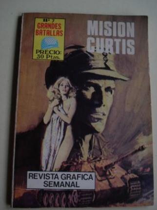 Misión Curtis. Revista Gráfica semanal. Grandes Batallas, nº 7 - Ver os detalles do produto