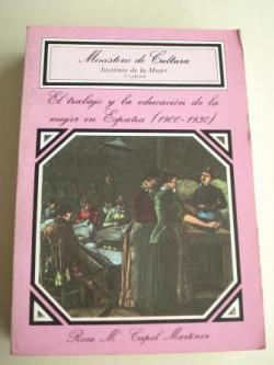Ver os detalles de:  El trabajo y la educación de la mujer en España (1900-1930)
