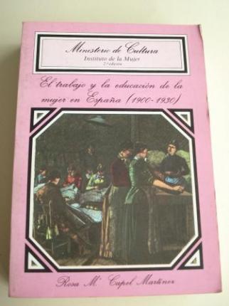 El trabajo y la educación de la mujer en España (1900-1930) - Ver os detalles do produto