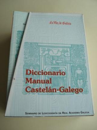 Diccionario Manual Castelán-Galego. 14 tomos. Seminario de Lexicografía da Real Academia Galega - Ver os detalles do produto