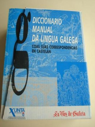 Diccionario Manual da Lingua Galega coas súas correspondencias en castelán. 14 tomos. Real Academia Galega. Instituto da Lingua Galega - Ver os detalles do produto