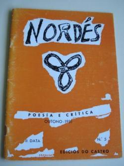 Ver os detalles de:  REVISTA NORDÉS. Poesía e Crítica. Número 5. Outono, 1981