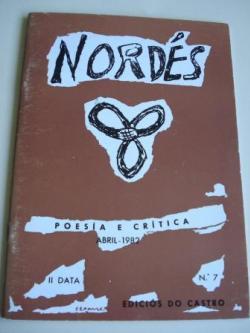 Ver os detalles de:  REVISTA NORDÉS. Poesía e Crítica. II Data. Número 7. Abril, 1982