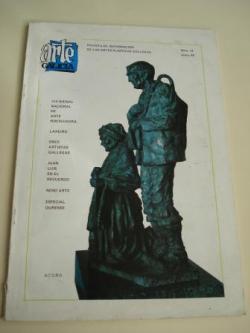 Ver os detalles de:  ARTE GALICIA. Revista de información de las artes plásticas gallegas. Número 13 - Junio 1985